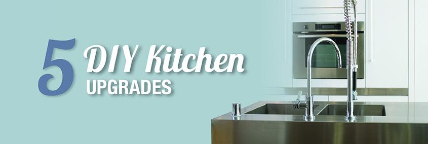 5 DIY Kitchen Upgrades