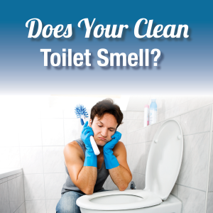 Does Your Clean Toilet Smell?